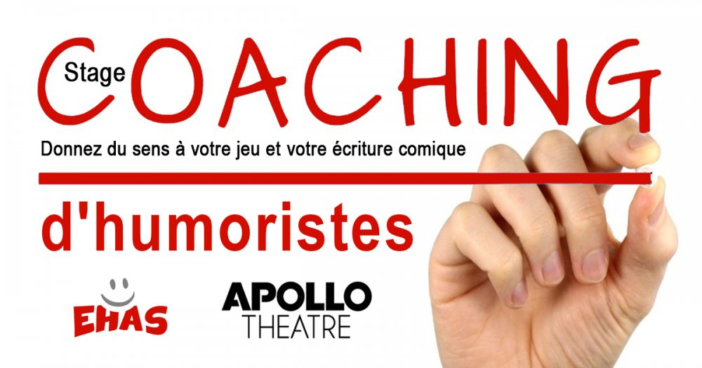 photo de Stage « Coaching d'humoristes »
